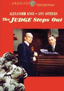 The Judge Steps Out starring Alexander Knox, Ann Sothern