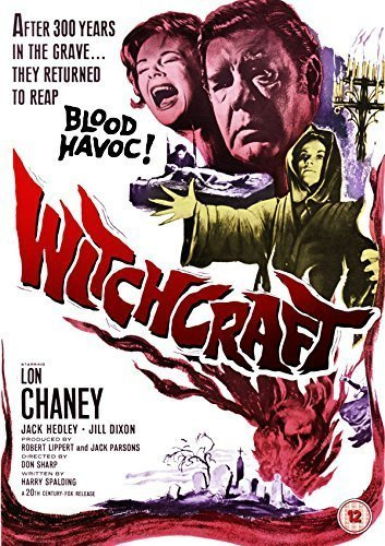 Witchcraft (1964) starring Lon Chaney Jr., Diane Clare, David Weston, Jack Hedley