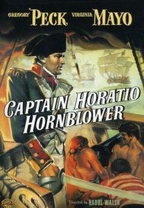 Captain Horatio Hornblower (1950) starringGregory Peck,Virginia Mayo