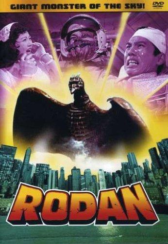 Rodan (1954) starringKenji Sahara, Yumi Shirakawa, Akihiko Hirata