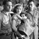 Chester Morris, Lucille Ball, Casey Johnson and Kent Taylor in Five Came Back