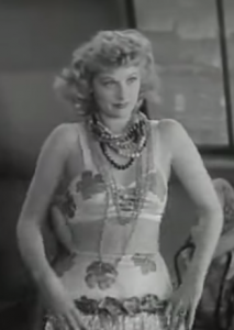 Lucille Ball as Bubbles, doing her hula dance audition in Dance, Girl, Dance