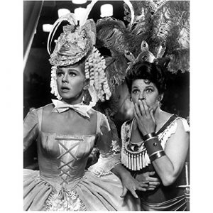 Doris Day and Martha Raye in a circus scene in Billy Rose's Jumbo