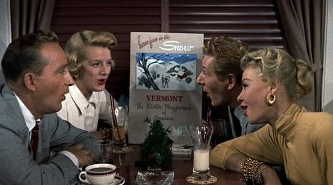 Song lyrics to Snow, as performed in White Christmas by Bing Crosby, Danny Kaye, Rosemary Clooney, Vera-Ellen