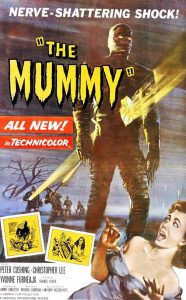 The Mummy (1959) starring Peter Cushing, Christopher Lee, Yvonne Furneaux