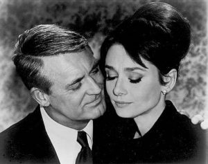Audrey Hepburn and Cary Grant in Charade