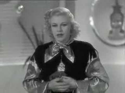 Let Yourself Go song lyrics by Irving Berlin, Performed by Ginger Rogers in Follow the Fleet