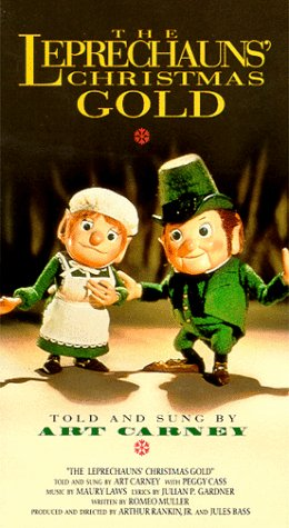 The Leprechauns' Christmas Gold (1981), starring Art Carney, Peggy Cass