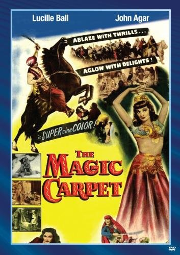 The Magic Carpet, starring Lucille Ball and John Agar