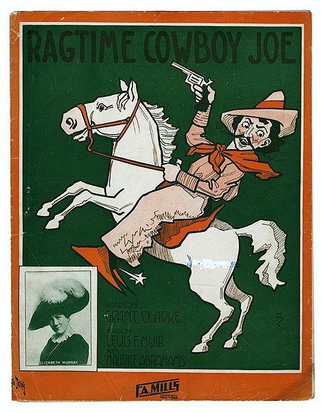 Ragtime Cowboy Joe – song lyrics – performed on I Love Lucy