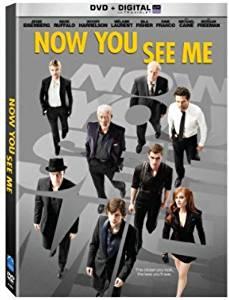 Now You See Me, starring Mark Ruffalo, Morgan Freeman, Jesse Eisenberg, Woody Harrelson, Michael Caine, Mélanie Laurent, Dave Franco