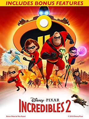 The Incredibles 2 (2018) starring Craig T. Nelson, Holly Hunter, directed by Brad Bird