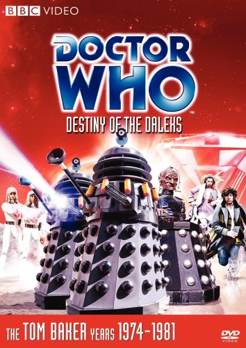 Destiny of the Daleks, starring Tom Baker, Lalla Ward