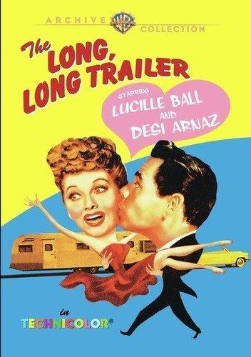 The Long, Long Trailer (1953) starring Lucille Ball, Desi Arnaz
