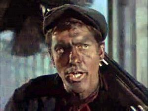 Dick Van Dyke as Bert the chimney sweeper in Mary Poppins, 1964