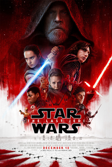 The Last Jedi - Star Wars Episode VII - starring Mark Hamill, Carrie Fisher,