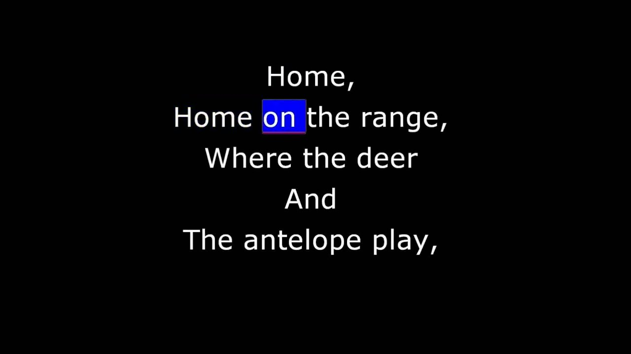 """Home on the Range is a classic western folk song sometimes called the """"unofficial anthem"""" of the American West. The lyrics were originally written by Dr. Brewster M. Higley of Smith County, Kansas, in a poem entitled """"My Western Home"""" in 1872. In 1947, it became the state song of the U.S. state of Kansas. In 2010, members of the Western Writers of America chose it as one of the Top 100 western songs of all time."""
