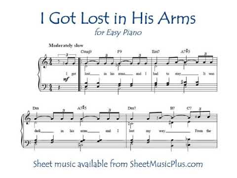 I Got Lost in His Arms song lyrics, performed in Annie Get Your Gun by Betty Hutton