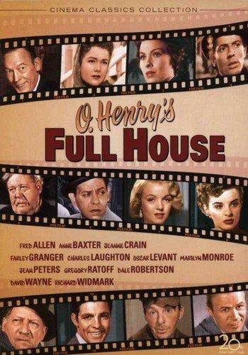 O. Henry's Full House (1952) starring Anne Baxter, Richard Widmark, Farley Granger, Charles Laughton, Marilyn Monroe