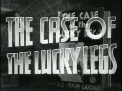 The Case of the lucky Legs (1935) starring Warren William, Genevieve Tobin, Patricia Ellis, Lyle Talbot, Allen Jenkins