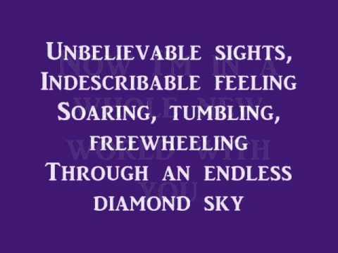 Song lyrics to A Whole New World, music by Alan Menken, lyrics by Tim Rice, performed in Walt Disney's Aladdin