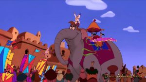 Song lyrics to Prince Ali, music by Alan Menken, lyrics by Howard Ashman, Performed by Robin Williams in Walt Disney's Aladdin