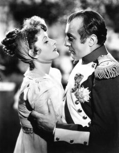 Greta Garbo as Marie Walewska and Charles Boyer as Napoleon in Conquest