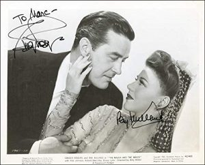Ray Milland and the adult Ginger Rogers in The Major and the Minor