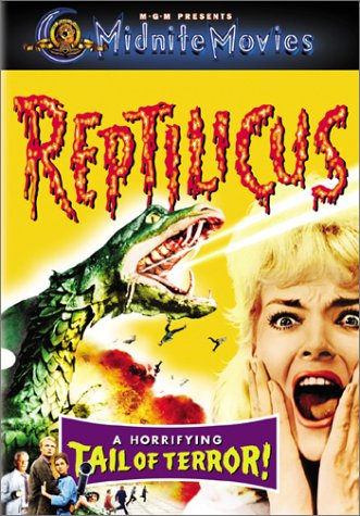 Cover of Reptilicus - which really misrepresents the content of the movie