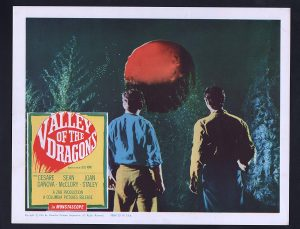 Valley of the Dragons - our protagonists see the comet approaching