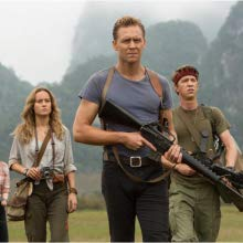 Brie Larson, Tom Hiddleston, soldier in over their heads in Kong: Skull Island
