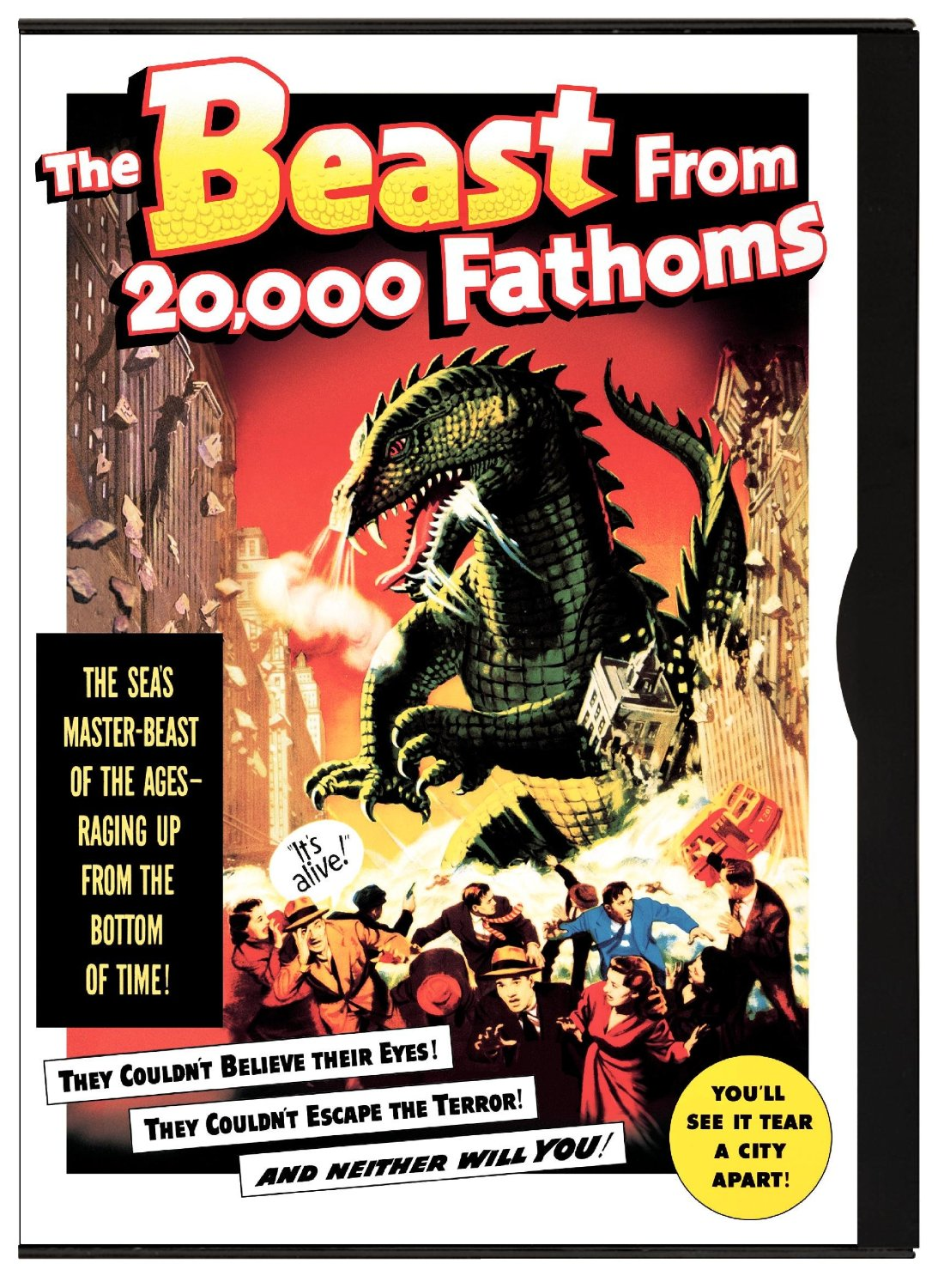 The Beast from 20,000 Fathoms (1953) starring Paul Hubschmid, Paula Raymond, Cecil Kellaway
