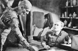 The Mummy - When the professor says, don't read the scroll of life out loud -- you really should listen