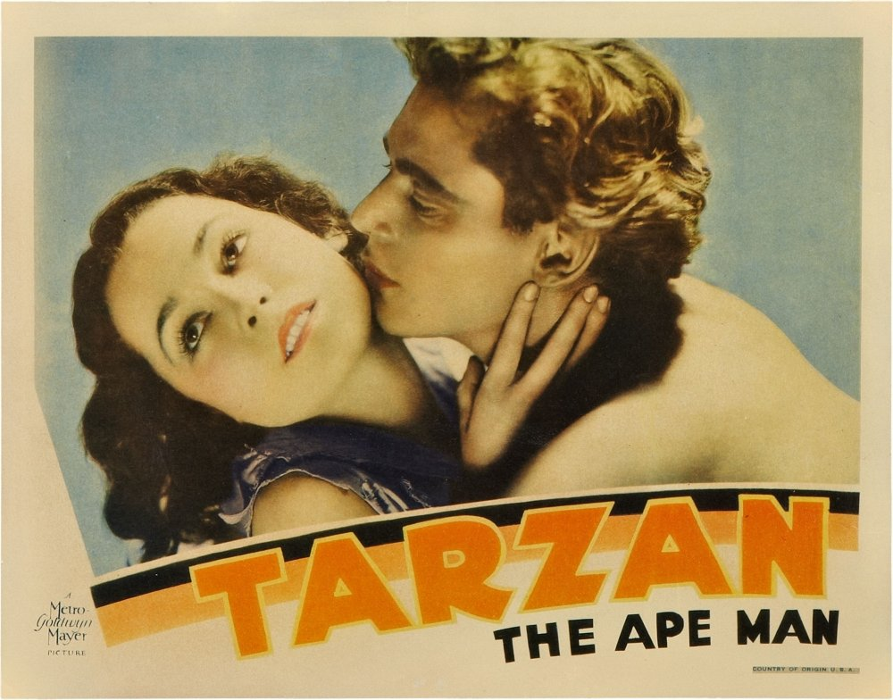 Posterazzi Tarzan The Ape Man Maureen O'sullivan Johnny Weissmuller 1932 Movie Masterprint Poster Print (14 x 11)