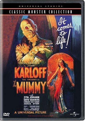 The Mummy (1932) starring Boris Karloff, Arthur Byron, Edward Van Sloan, David Manners, Zita Johann, directed by Karl Freund