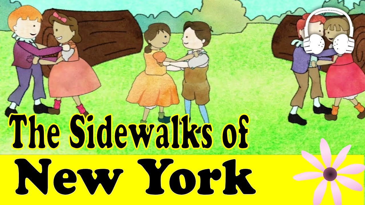 The Sidewalks of New York song lyrics, Music by Charles Lawlor and James W. Blake, performed in Shall We Dance