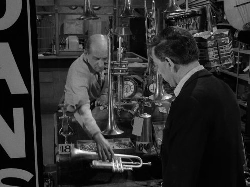 Jack Klugman in A Passage for Trumpet, in The Twilight Zone season 1