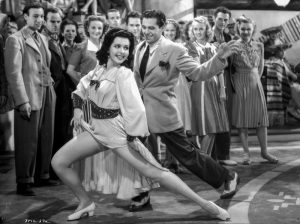 Ann Miller dancing the Spic and Spanish number in Too Many Girls