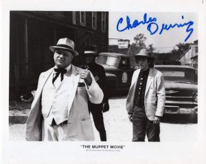 "Charles Durning, the villain in ""The Muppet Movie"""