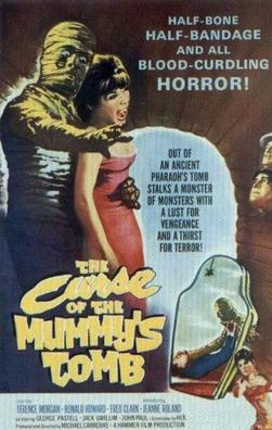 The Curse of the Mummy's Tomb (1964) starring Terence Morgan, Ronald Howard, Fred Clark, Jeanne Roland