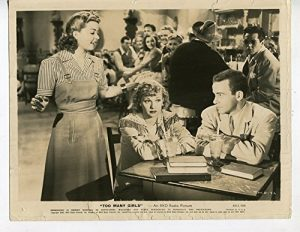 Frances Langford serenading the lovers (Lucille Ball and Richard Carlson) in Too Many Girls