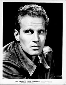 Charleton Heston in The Greatest Show on Earth (1952)