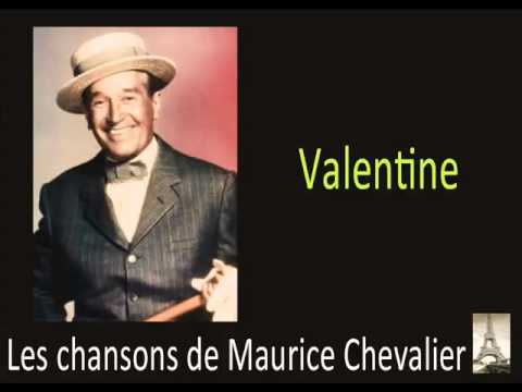 Albert Willemetz and Henri Christiné wrote Valentine for Maurice Chevalier. This is the modified version, performed on the I Love Lucy episode, The French Revue. The original lyrics were somewhat risqué.