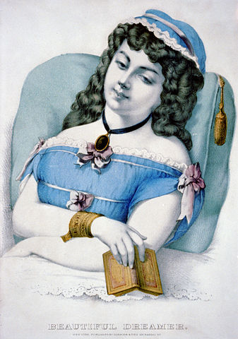 Song lyrics to Beautiful Dreamer (1864) by Stephen Foster