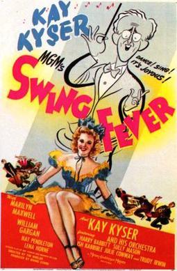Swing Fever, starring Kay Kyser Marilyn Maxwell, Nat Pendleton, Lena Horne