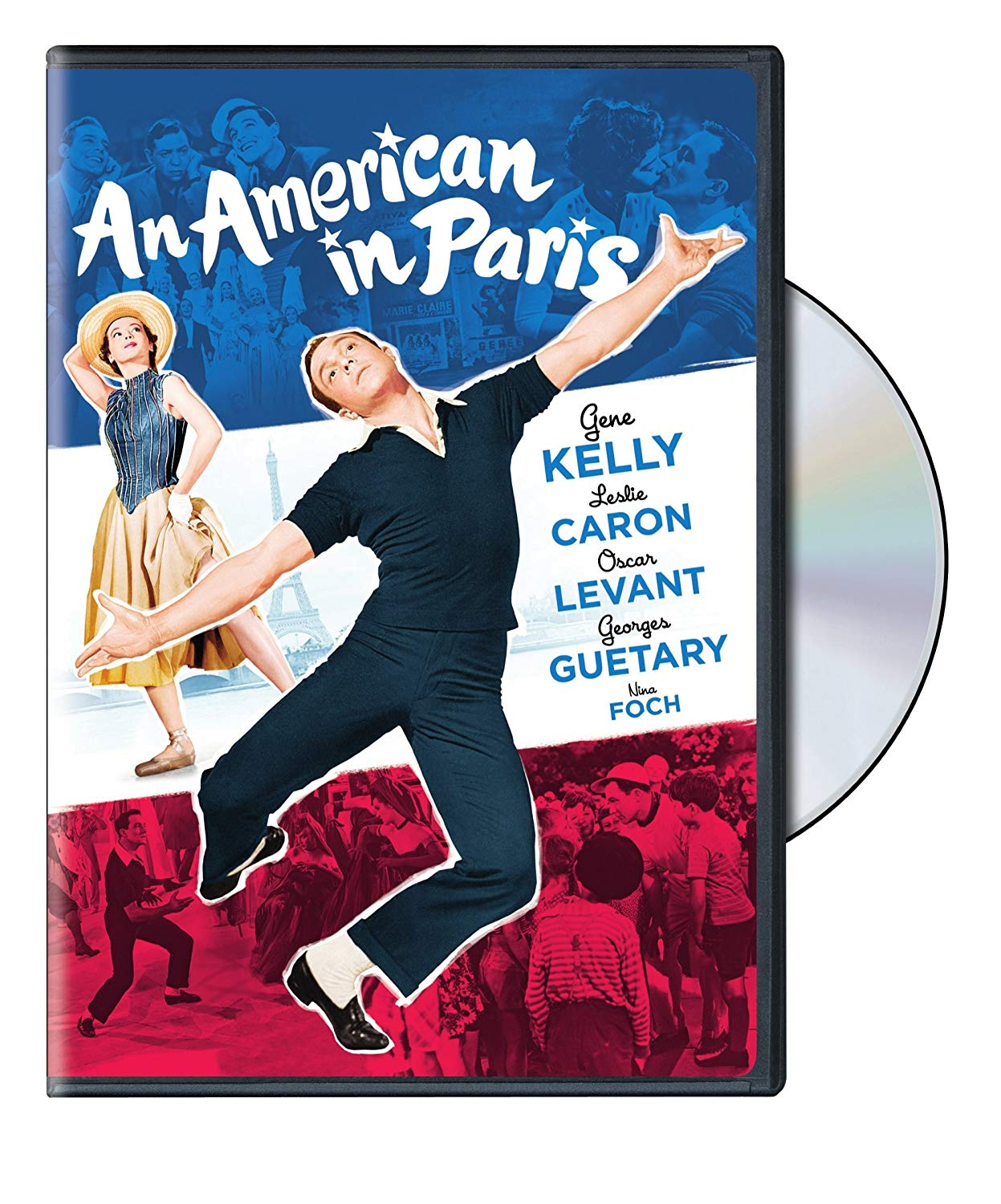 An American in Paris (1951), starring Gene Kelly, Leslie Caron, Oscar Levant, directed by Vincente Minelli