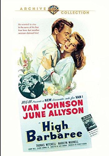High Barbaree (1947) starring Van Johnson, June Allyson, Thomas Mitchell, Marilyn Maxwell