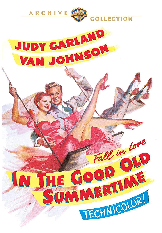 In the Good Old Summertime (1949) starring Van Johnson, Judy Garland, Cheeks Sakall, Buster Keaton