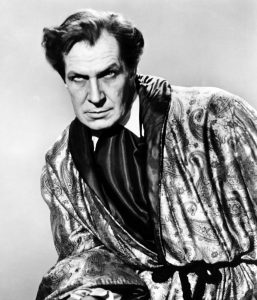 Vincent Price as the grieving, obsessed husband in Morella