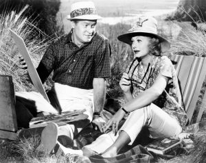 Bob Hope and Lucille Ball thrown together on vacation in The Facts of Life